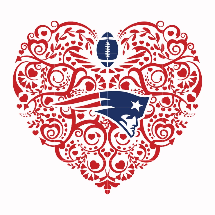 New england patriots, svg, png, dxf, eps file NFL000059