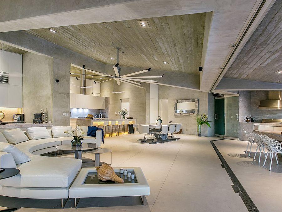 Living On The Edge Grand Futuristic Mansion Is A Modern Masterpiece Luxury Living Room Lavish Living Room Luxury Living Room Design