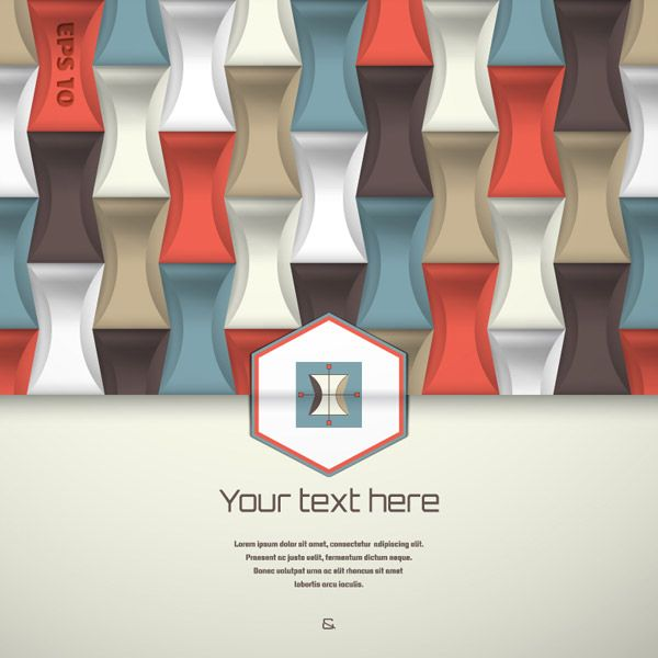 Business Geometric Background Vector