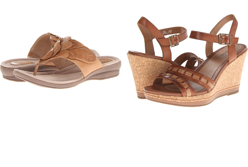 cute, comfy Clarks! On sale!