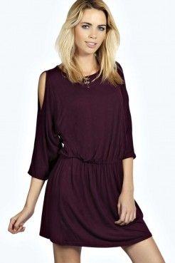 Lisa Robe Froncée À Épaules Dénudées - Robes Patineuses - Robes - Vêtements Femme