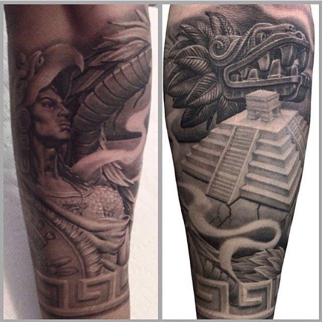 2cb151085 Pyramid Inca Tattoo, Mayan Tattoos, Evil Tattoos, Chicano Tattoos, Skull  Tattoos,