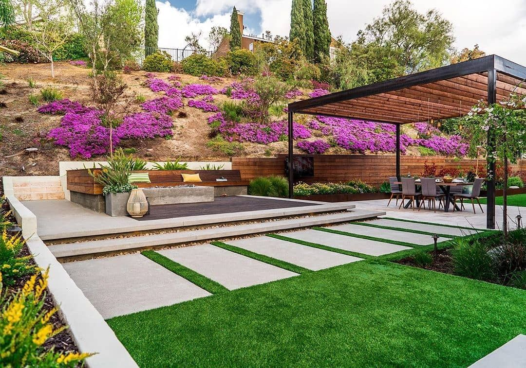 Landscape Design Pros On Instagram Charming Carlsbad Backyard Sanctuary Designed And Built By Brookside Design Backyard Backyard Sanctuary Backyard Design