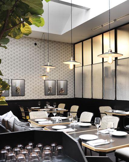 Manger marie deroudilhe dream shop papier peint restaurant groupe et papier peint - Idee revetement mural ...