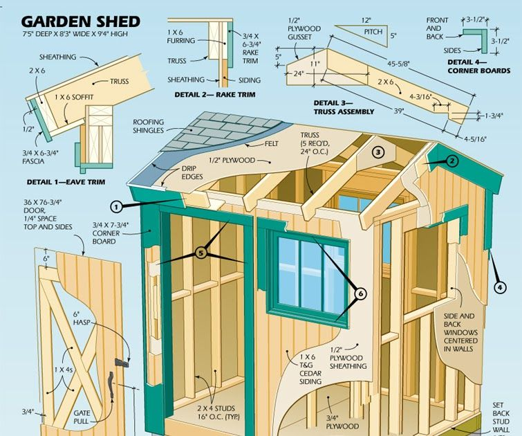 Shed Plans Uk Free in 2020 | Shed plans, Diy shed plans ...