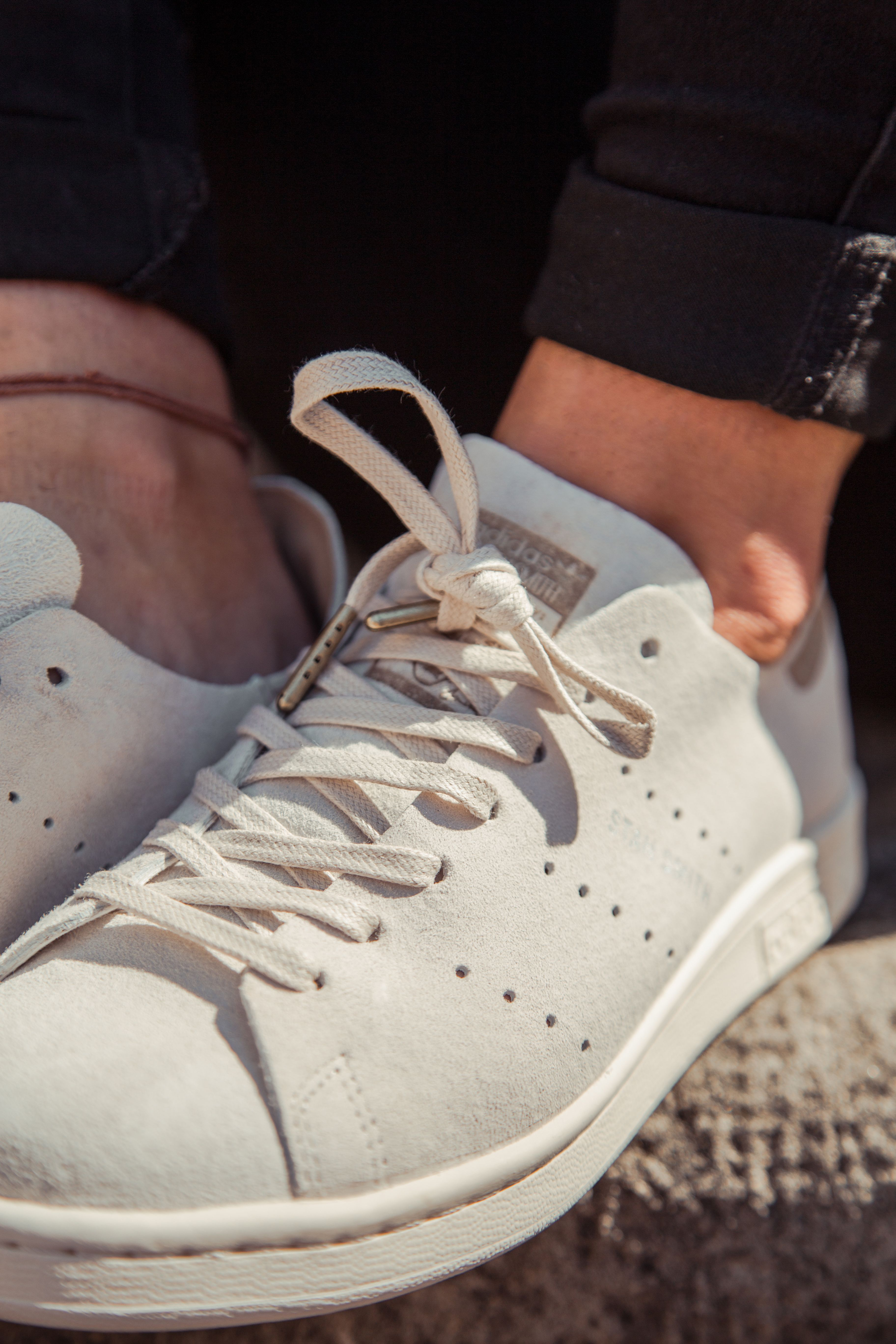 adidas stan smith mujer beige