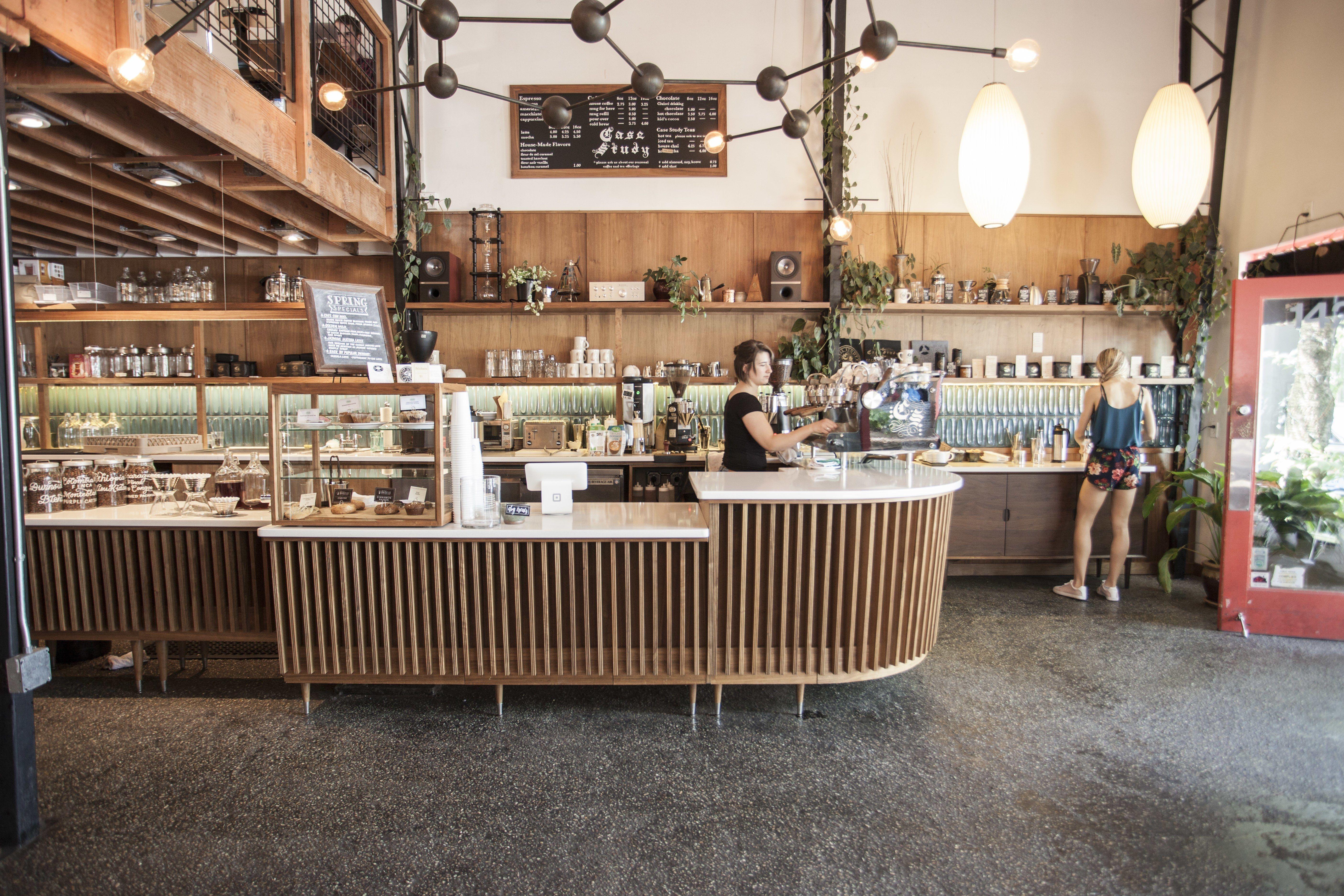 12 Amazing Modern Coffee Shop Designs Coffee shops