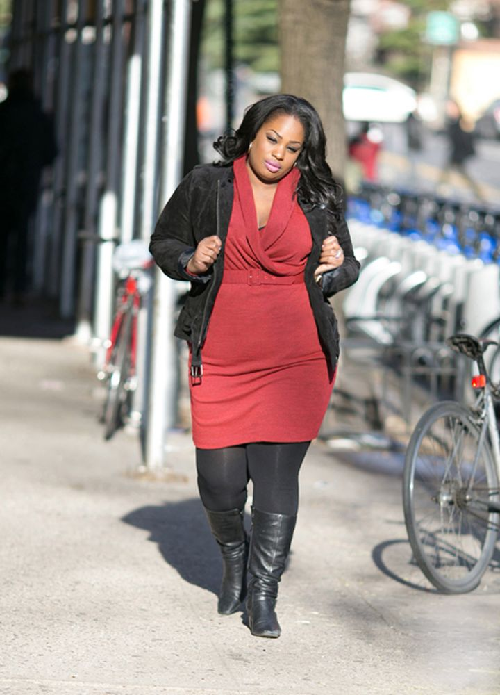 Plus Size Sweater Dress Plus Size Fashion Pinterest Curvy Red