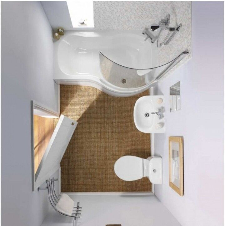 Ideia para decorar casa de banho pequena
