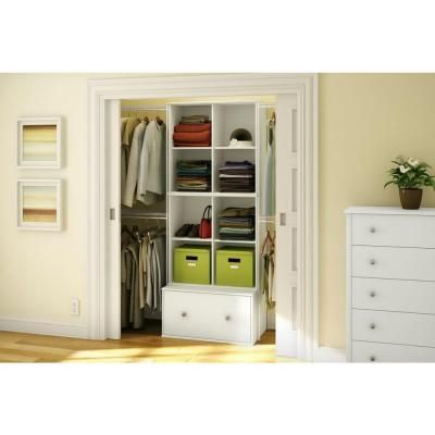 South Shore Stor It 4 Cubby Storage Unit In Pure White Discontinued 5050772 White Shelving Unit Cubby Storage Furniture