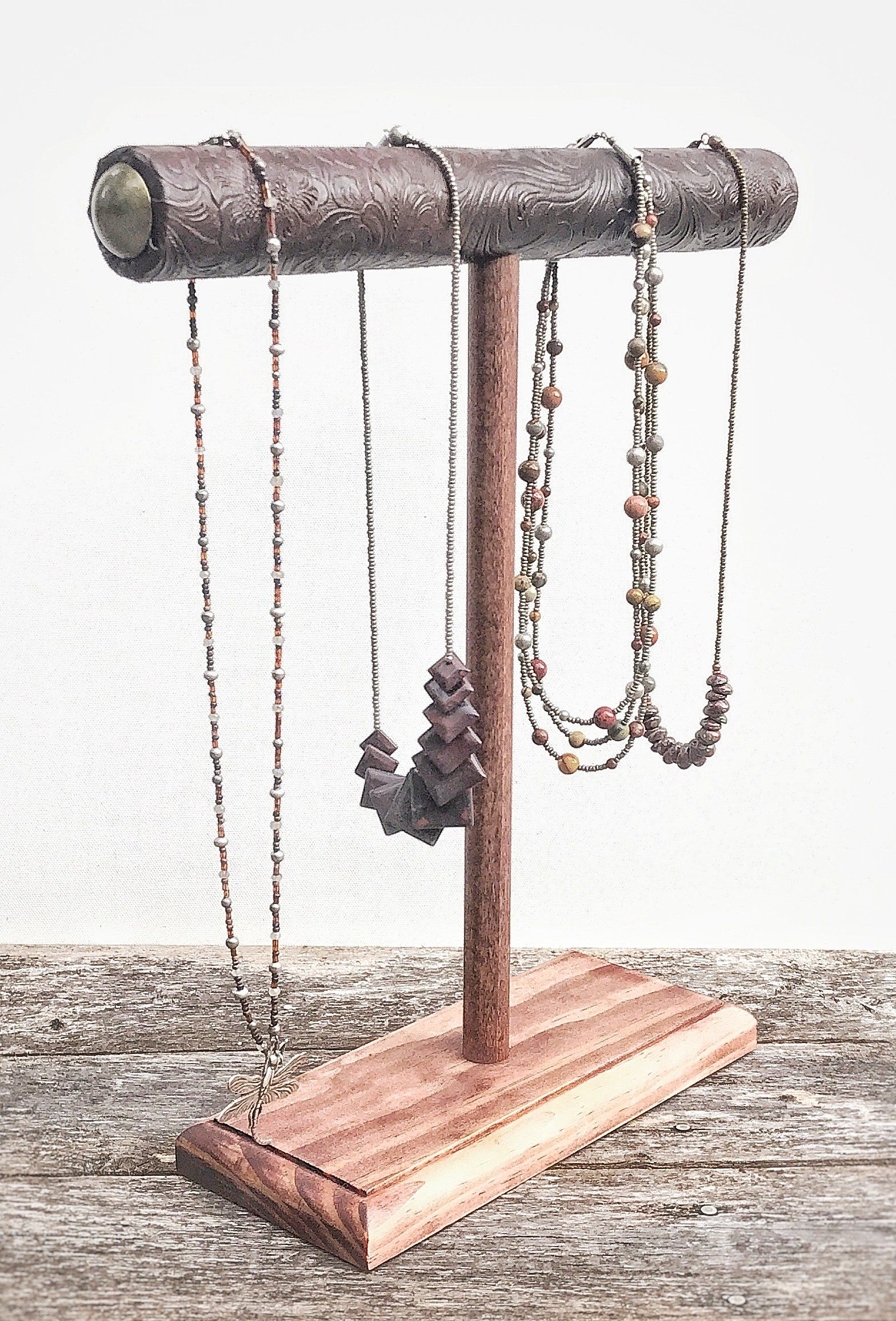 Jewelry Display Necklace Holder Necklace Stand T Bar Stand Jewelry Storage Bracelet Stand Wood Jewelry Jewelry Holder Stand Bracelet Stand Jewelry Stand