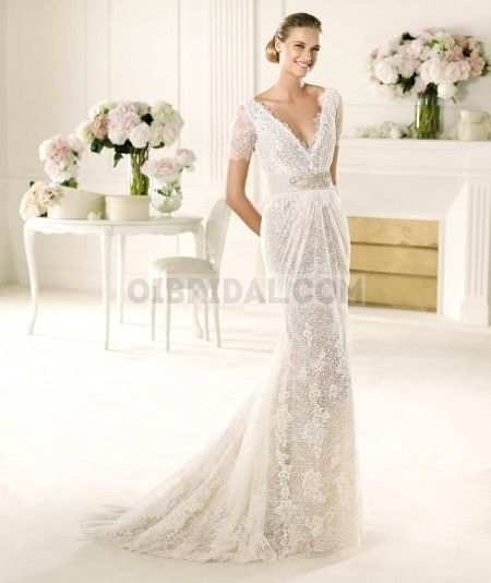 Cheap Pronovias Vergel Wedding Dresses online at Safiriodesign