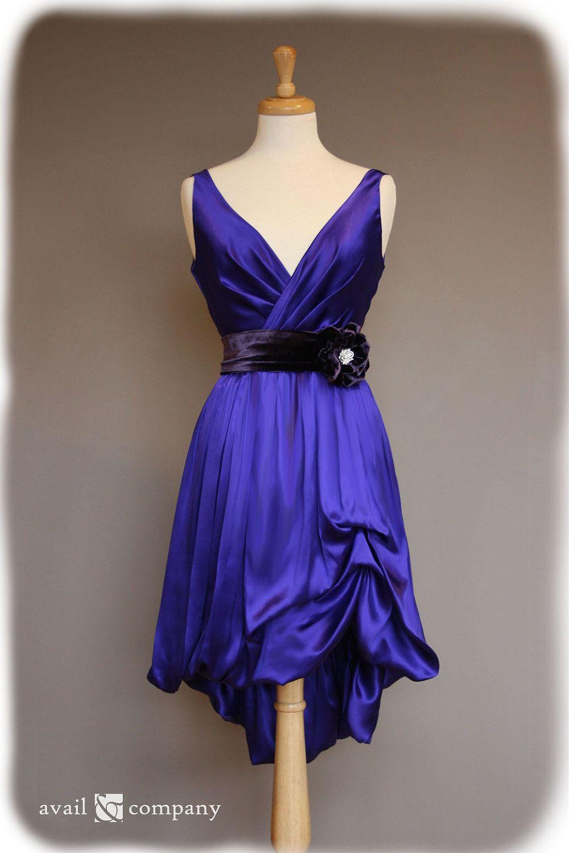 Dress Full View Purple Bridesmaid Dresses Velvet Bridesmaid Dresses Bridesmaid Dresses [ 1500 x 1000 Pixel ]