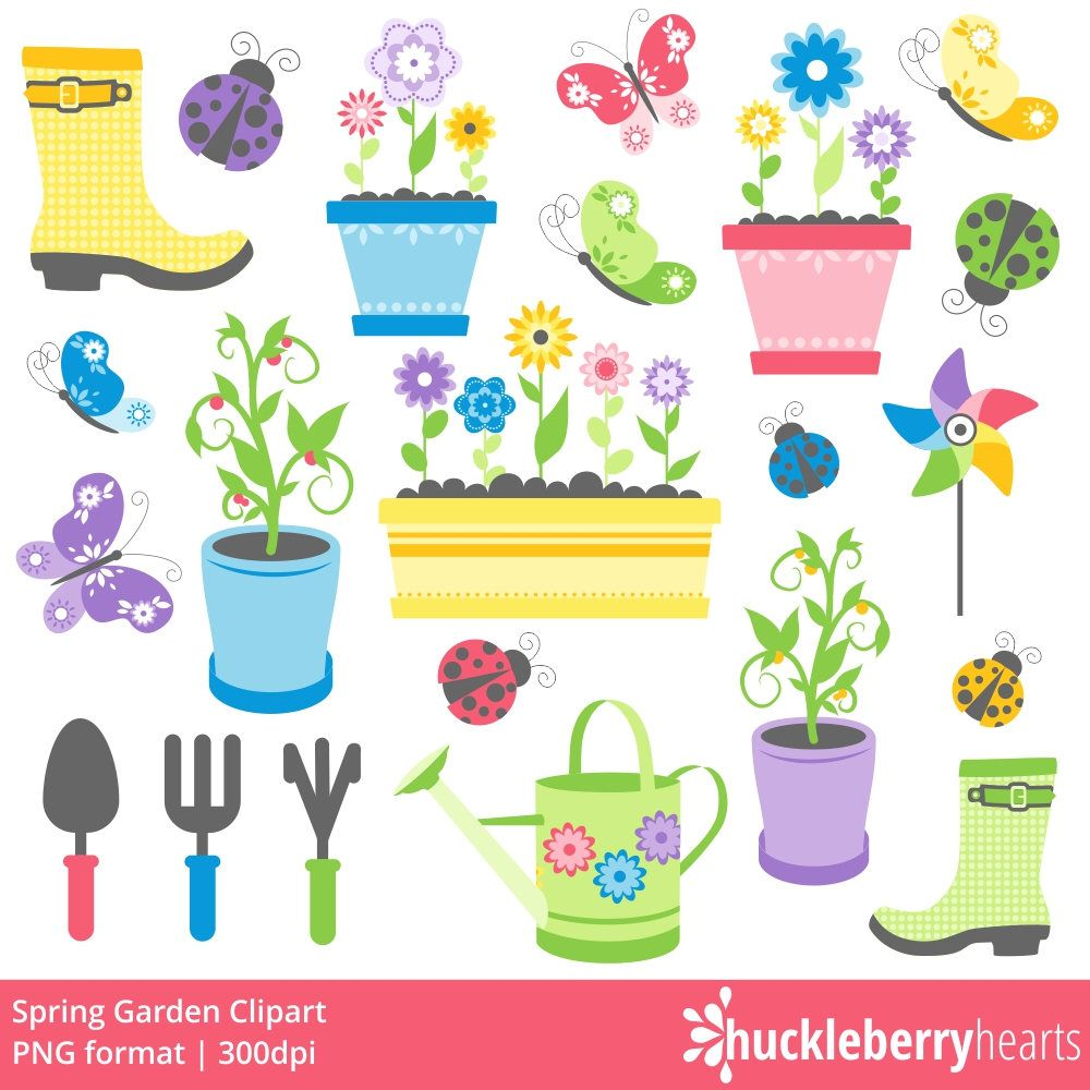 autumn sale garden clipart spring clipart garden tools clipart rh pinterest ch spring clip art pictures spring clipart black and white
