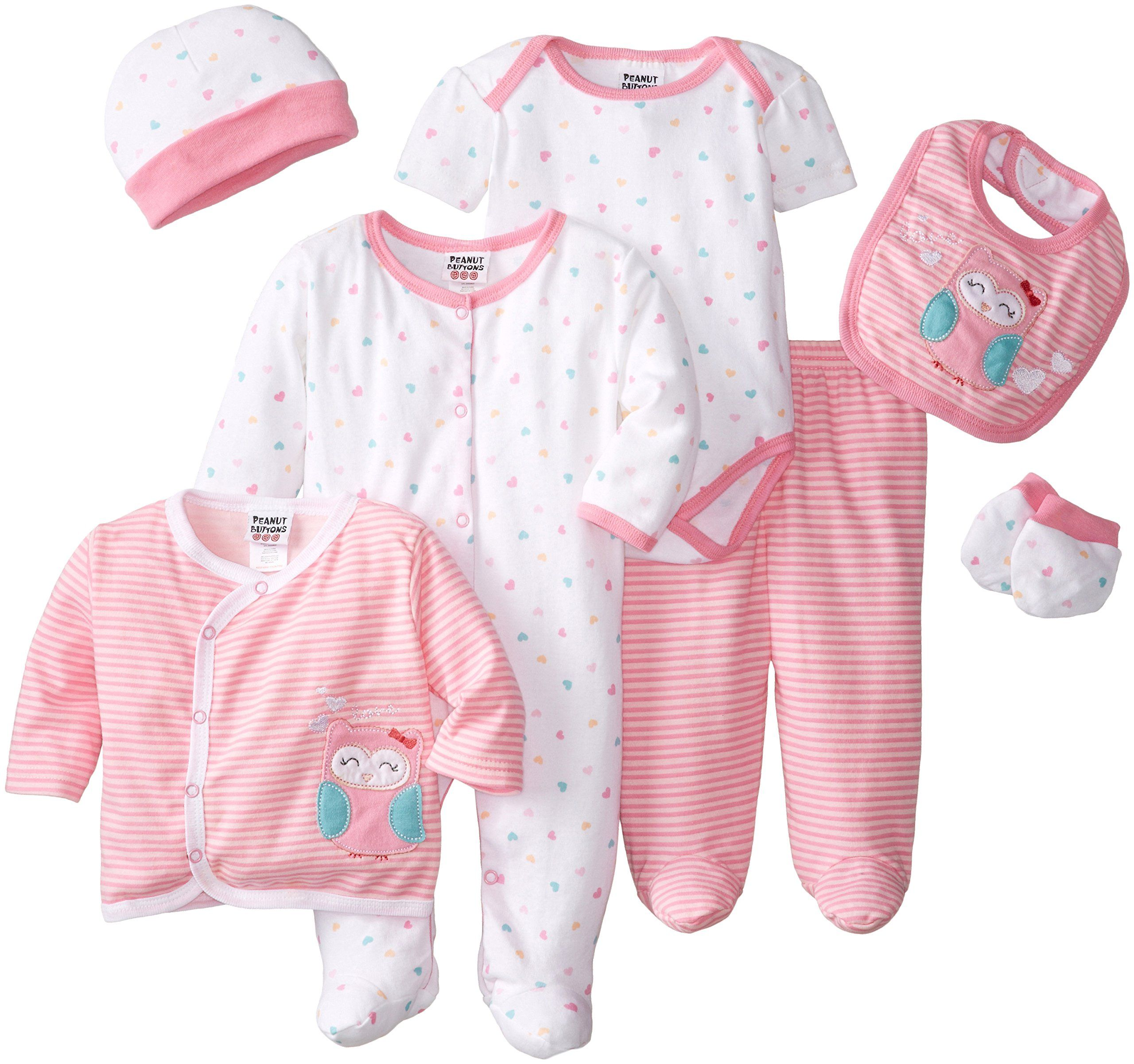 Premature Baby Girl Pink Unicorn Hooded Jacket and Trousers Set