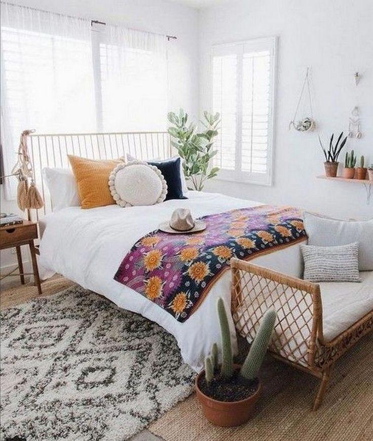 Chambre de style bohème #bedroomsideas