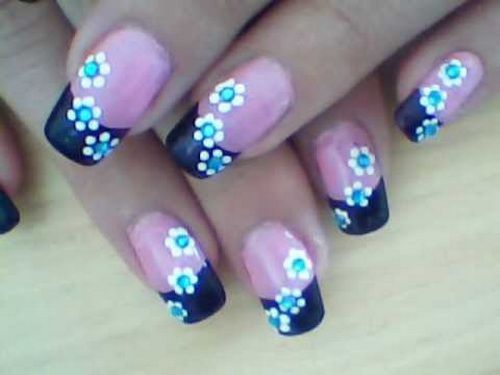 Nail Art Designs For Beginners Step By Step Trendy Flower Nail