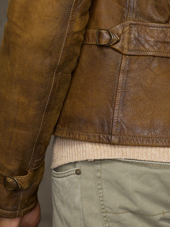Bushbuck Newsboy Jacket Leather Jackets Jackets Outerwear Ralph Lauren Uk Mens Outfits Leather Jacket Outerwear Jackets [ 1440 x 1080 Pixel ]