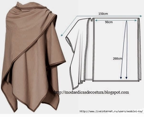 Sew an elegant ruana | Sew - Tailoring | Pinterest | Elegant ...