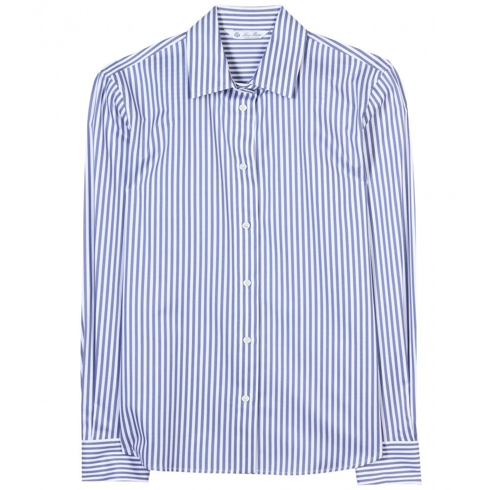 mytheresa.com - Britney striped shirt - Loro Piana