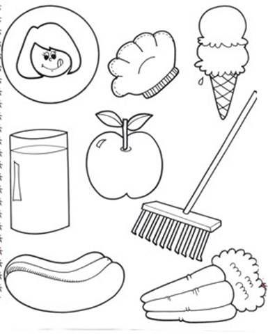5 senses coloring worksheets rhyme time homeschooling k5 worksheets homeschool homework. Black Bedroom Furniture Sets. Home Design Ideas