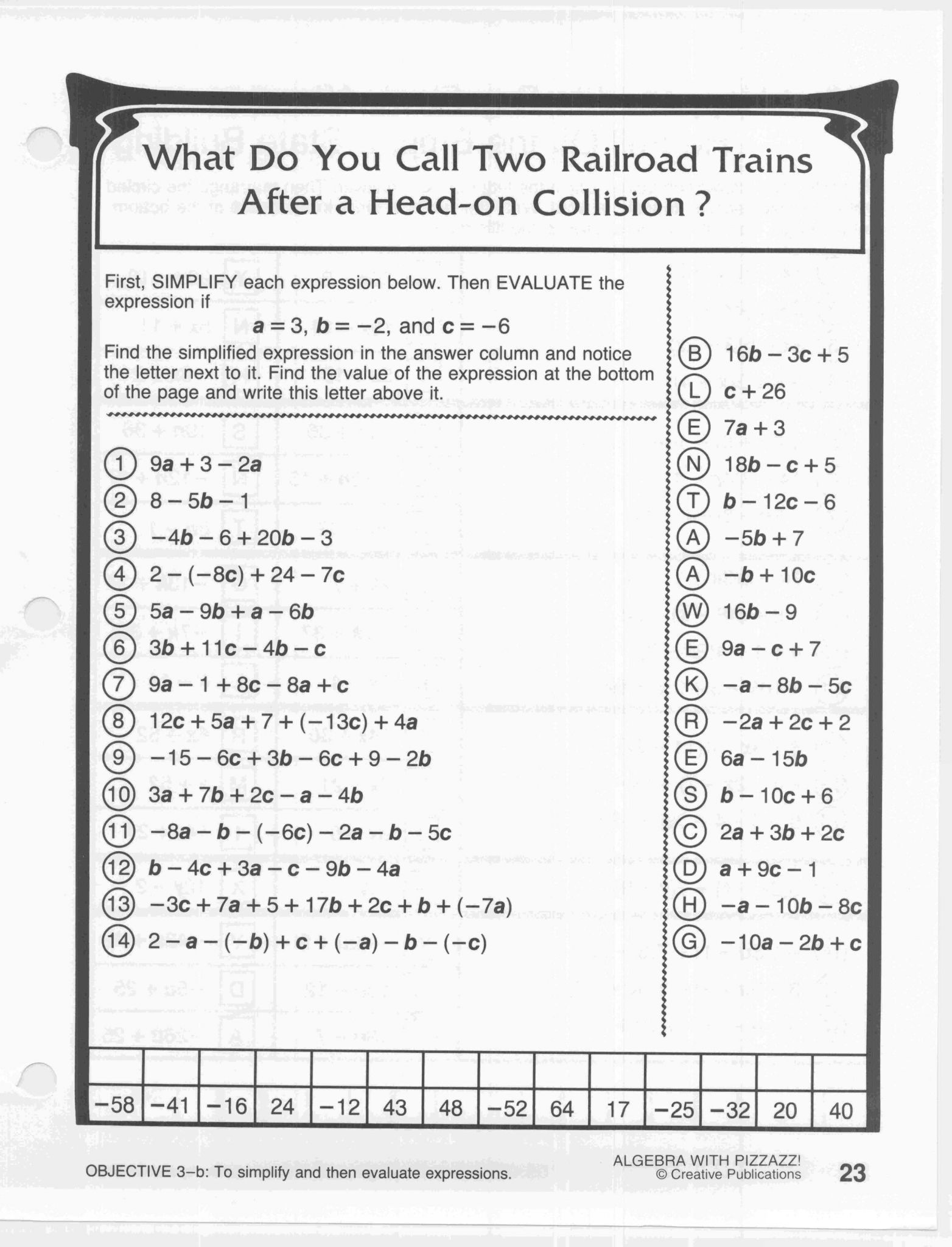 New Did You Hear About Worksheet Answers