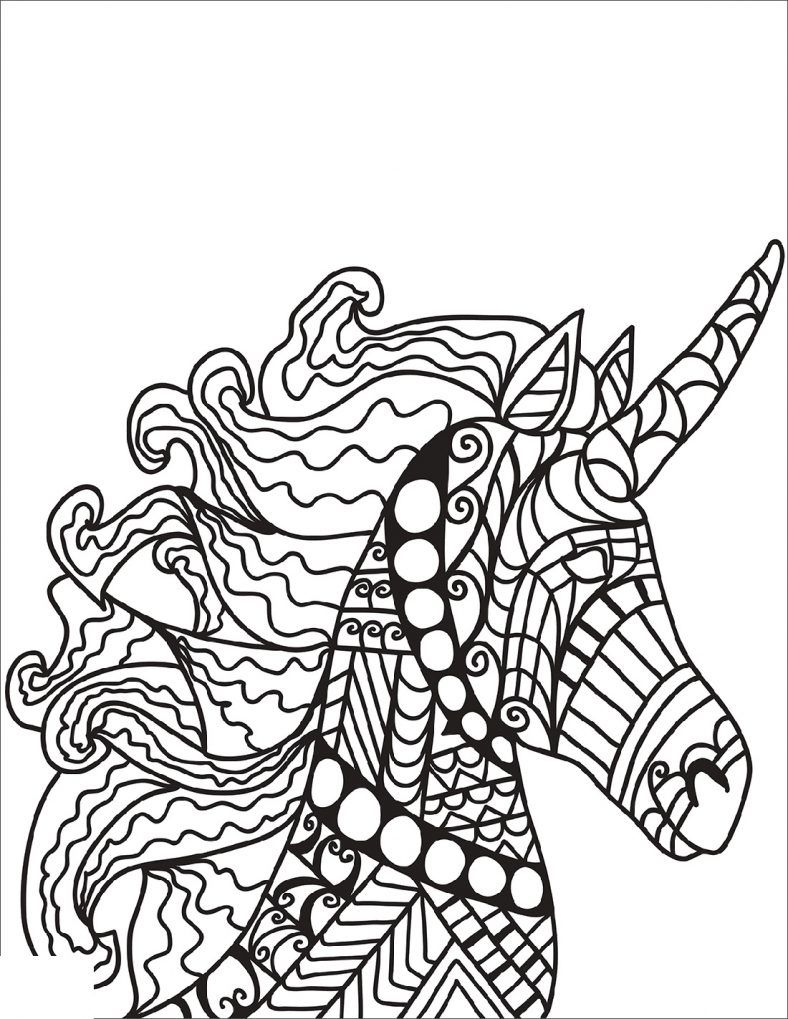 Unique Unicorn Coloring Book 101 Coloring Unicorn Coloring Pages Coloring Books Unicorn Themed Birthday