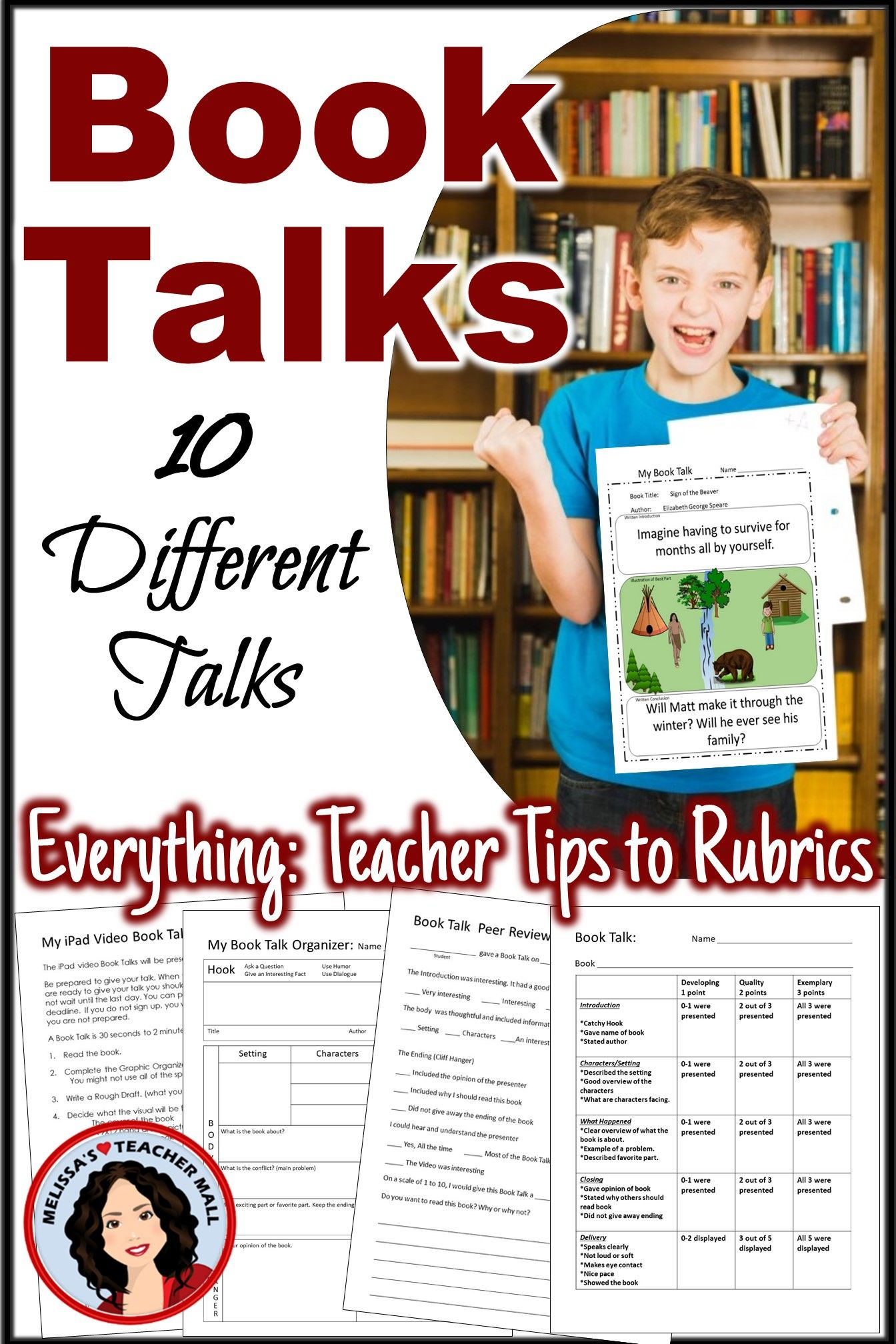 Book Talk Book Report