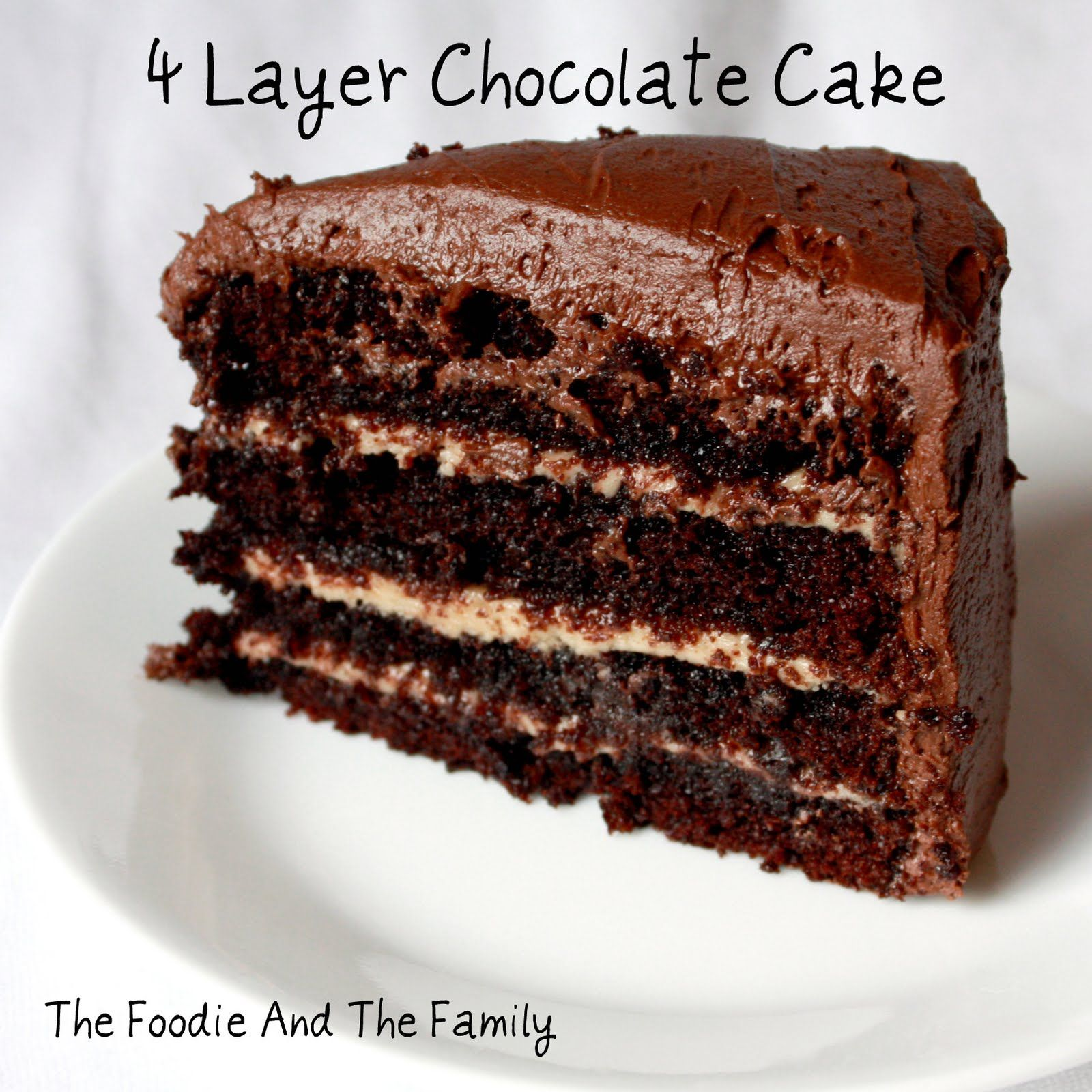 Chocolate Making Me Fat But The Important Thing Is It Make Me Happy Chocolate Layer Cake