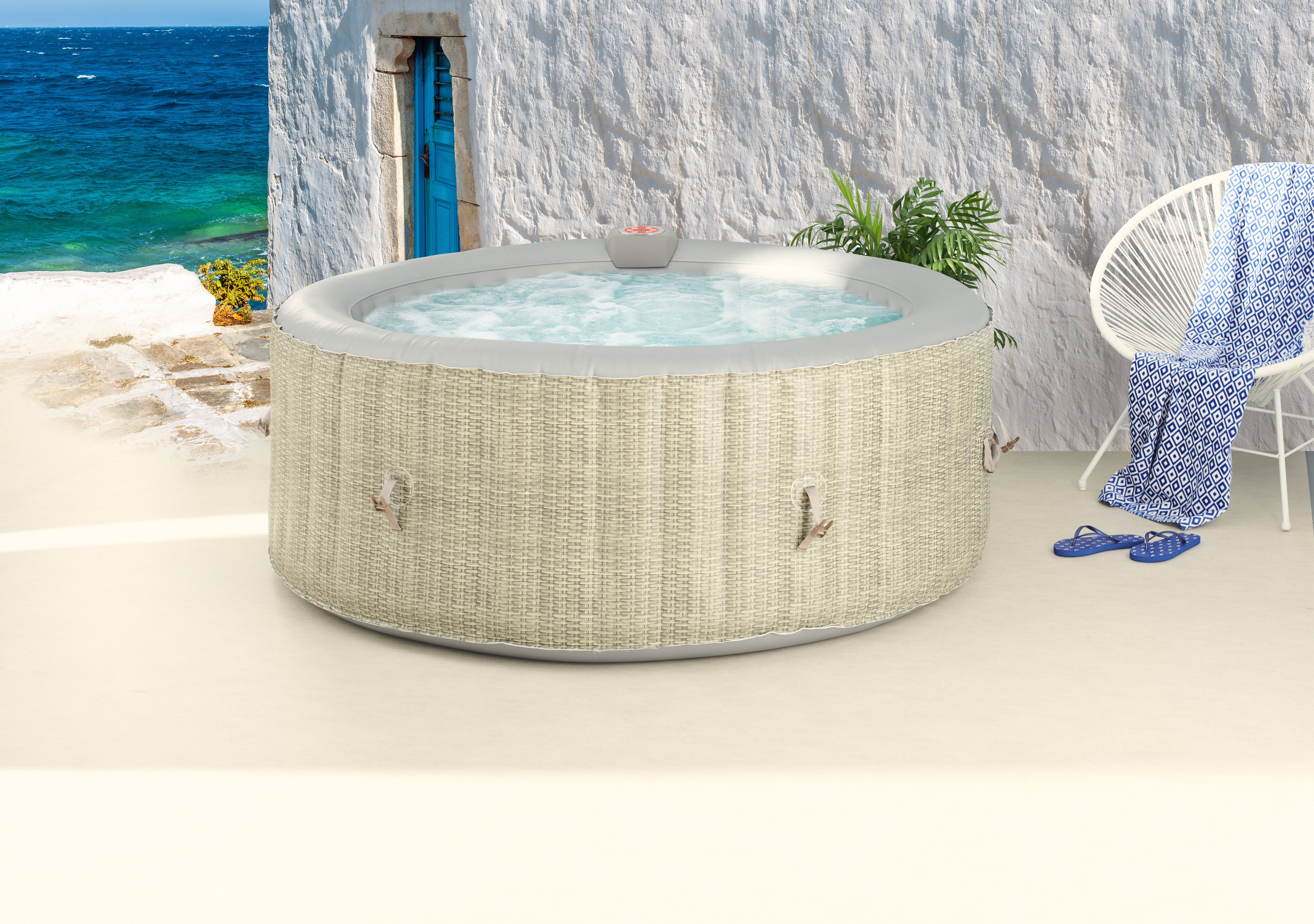 Spa Jacuzzi Ou Mini Piscine Spa Gonflable Jacuzzi