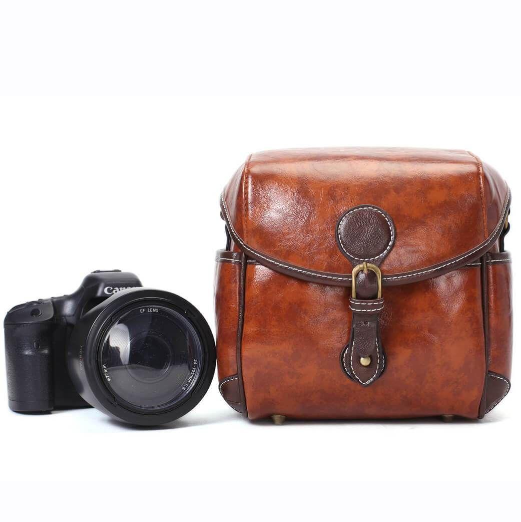 Flash Sale PU Leather DSLR Camera Purse, Vintage SLR Camera Case 288 #camerapurse PU Leather DSLR Camera Purse, Vintage SLR Camera Case 288 #camerapurse