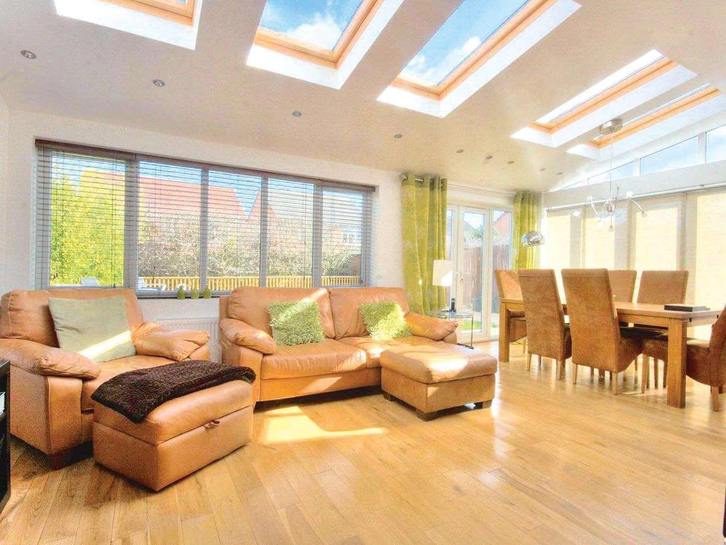 Adding a rear garden room extension real homes home for Garden room extensions