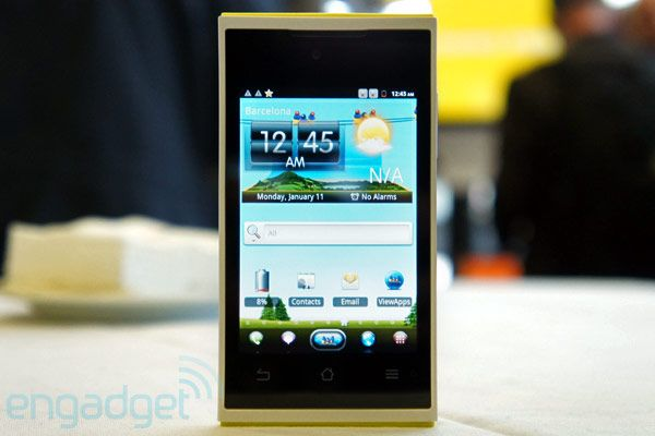 ViewSonic ViewPhone 4s hands-on