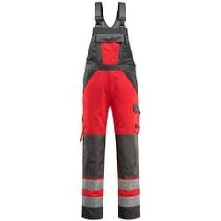 Photo of Calças unissex de alta visibilidade Mascot® Gosford red size 66