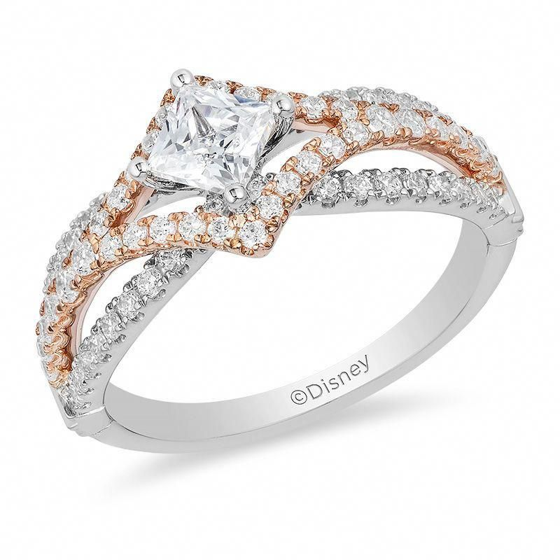 999664a90 Wow I adore this wedding ring. #princesscutengagementrings | Finest ...