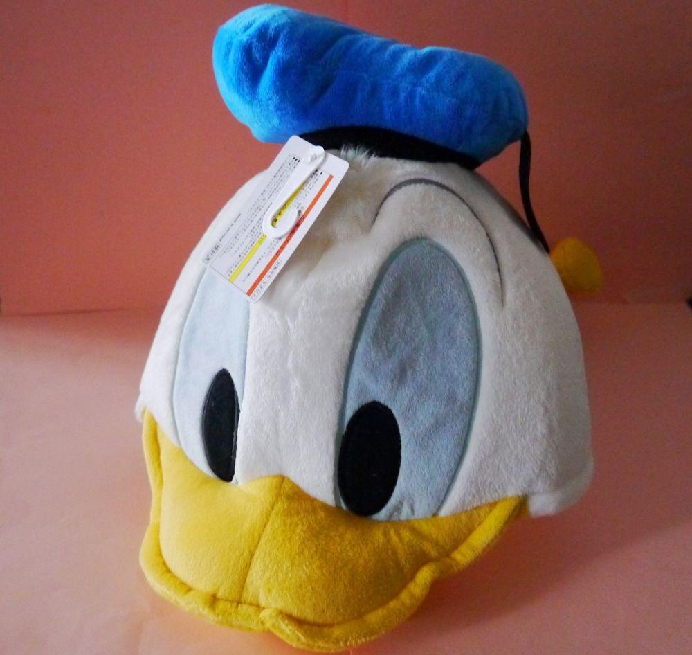 New Tokyo Disneyland Donald duck Hat Plush Toys Soft Doll Japan exclusive  cap  Disney 3f75f1122bdf