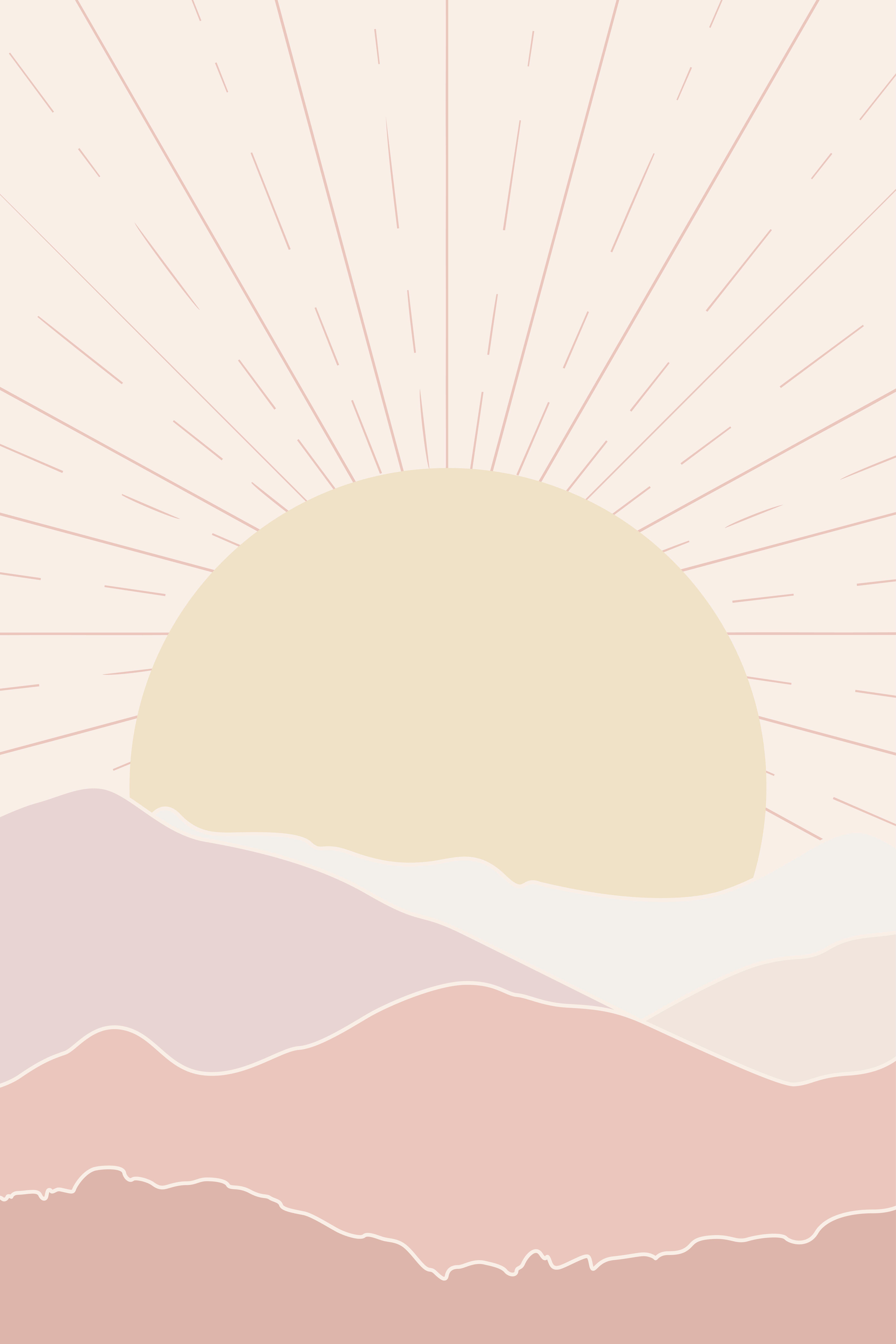 Sunset Landscape Art Print In 2020 Abstract Wallpaper Design Sunset Wall Art Etsy Wall Art