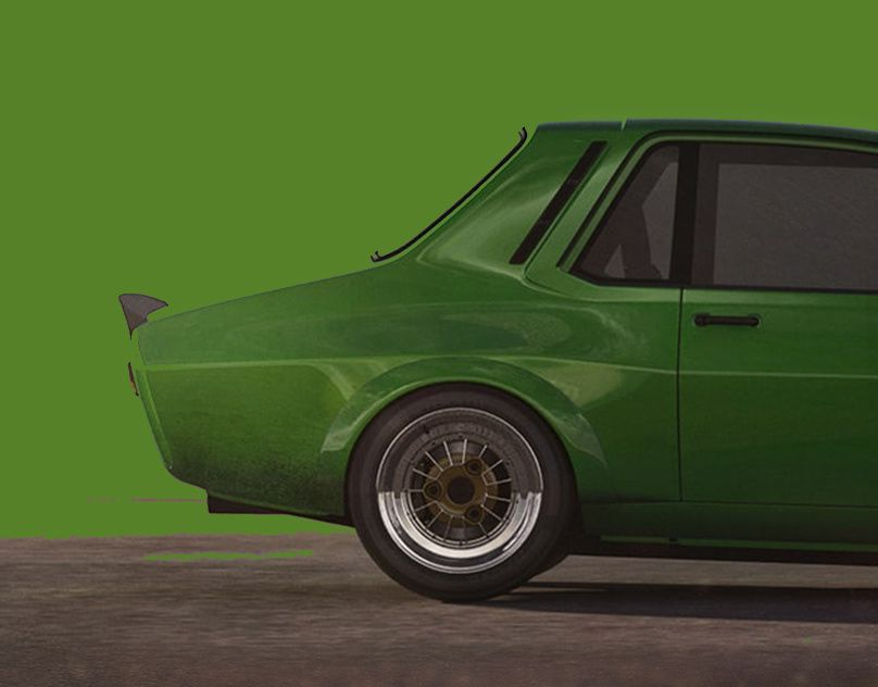 Widebody Kit Projects Photos Videos Logos Illustrations And Branding On Behance Concept Cars Dacia Track Car
