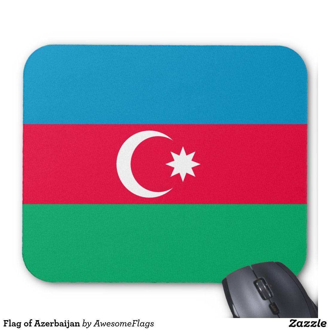 flag of azerbaijan mouse pad flag design ideas - Flag Design Ideas