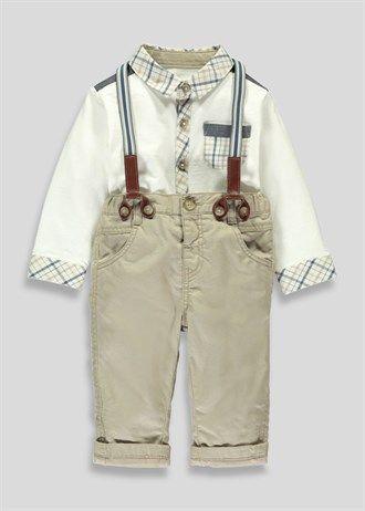 Boys Polo Shirt and Chinos Set (Newborn-18mths)