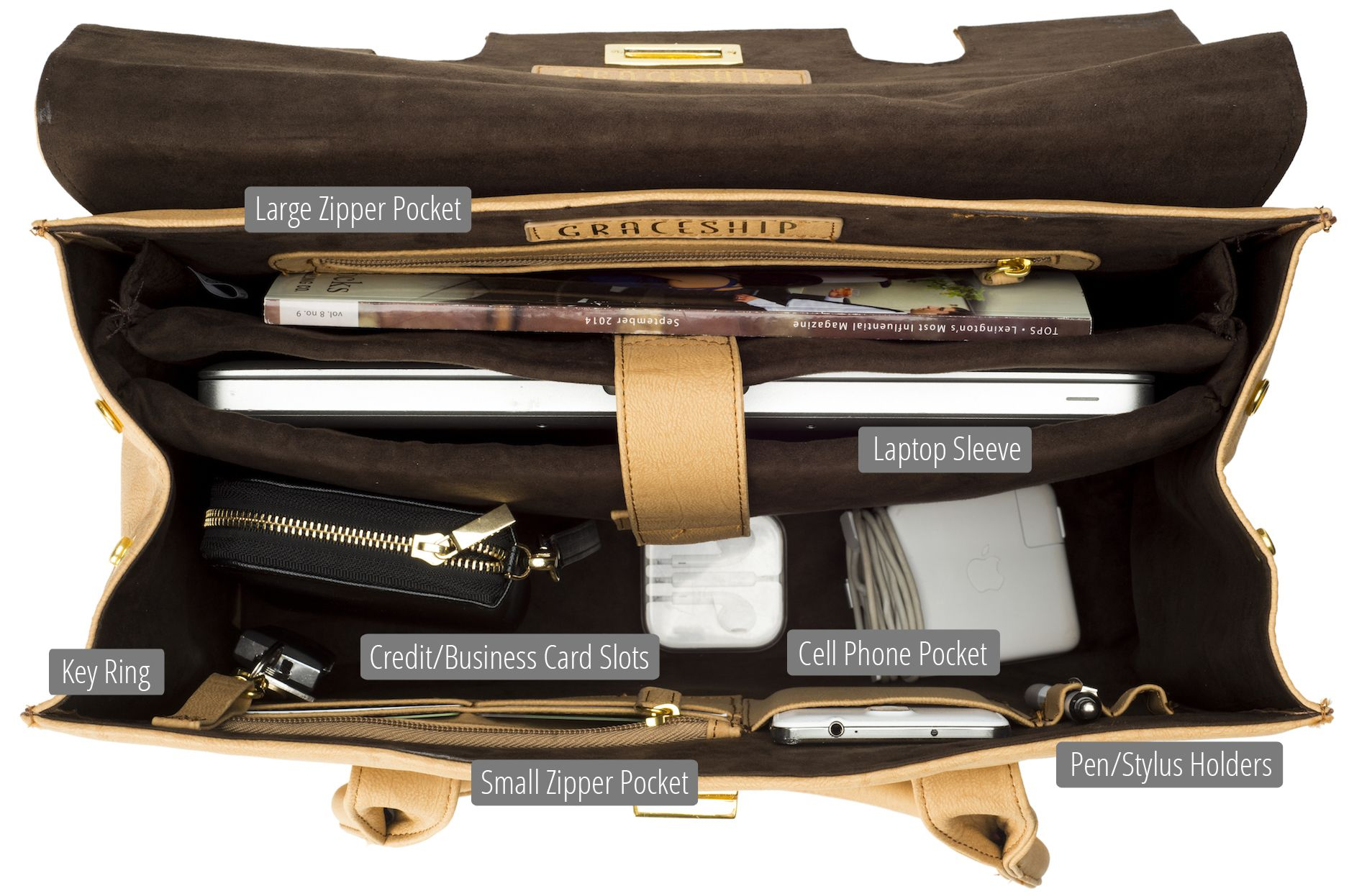 96acff67c05 GRACESHIP offers women s laptop bags and women s briefcases that are both  fashionable and functional! Travel and commute Gracefully!