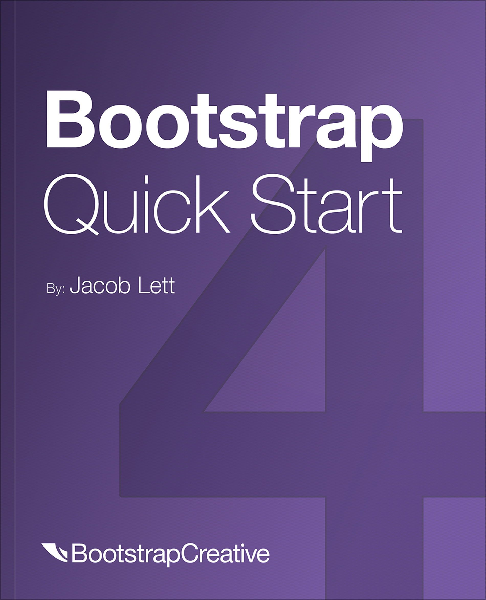 Bootstrap 4 Quick Start Book Pdf Responsive Web Development Tutorial Web Design Tips Web Development Design Web Design
