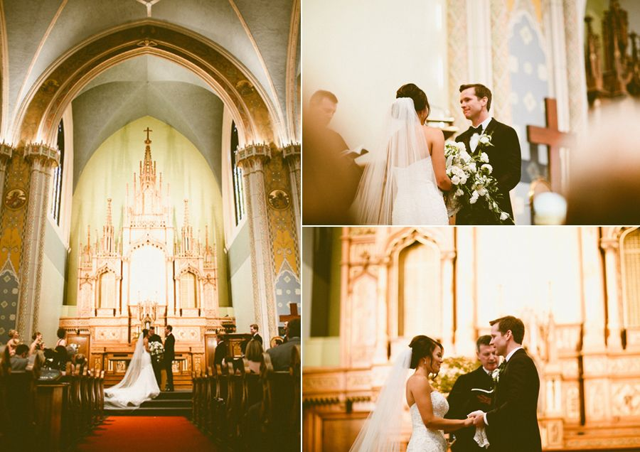 A Glamorous Traditional Ceremony At Covenent Presbyterian Church Anion Events