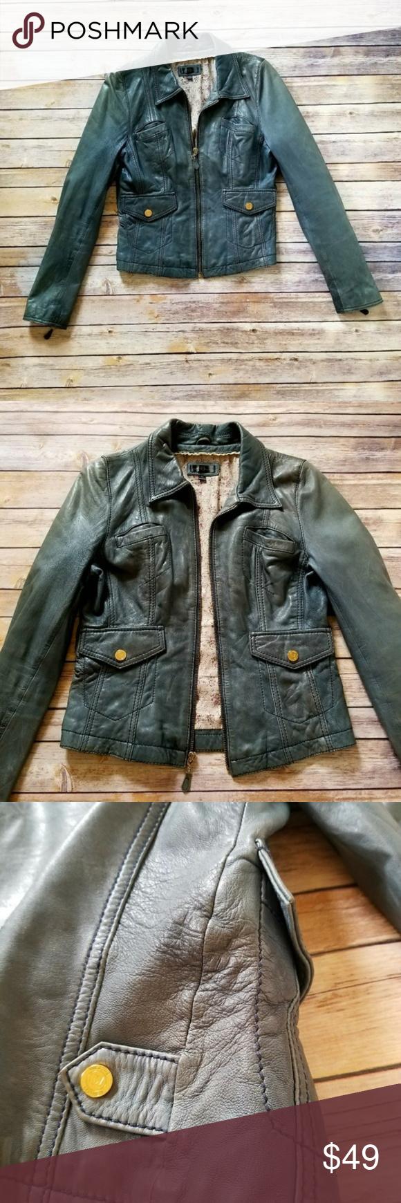 Wilson's Leather Genuine Leather Jacket Size M Genuine