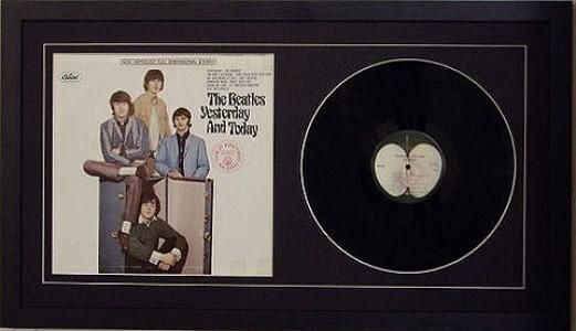 Beatles Album Frame Album Frames Vinyl Record Frame Framed Records