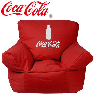 f04b2f1ce8f7 Omigosh!!!!!!! a Coca Cola Bean Bag Chair?! I want one if these so ...