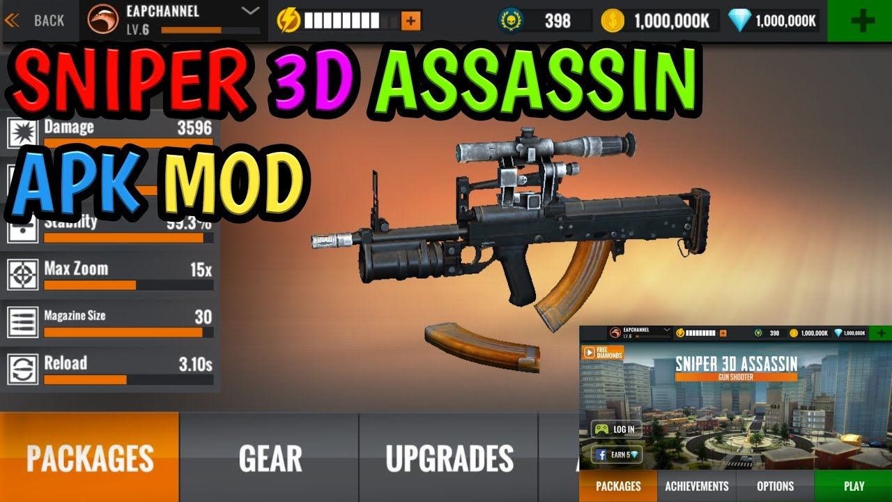 Sniper 3d Hack Android Tool Hacks Sniper Assassin