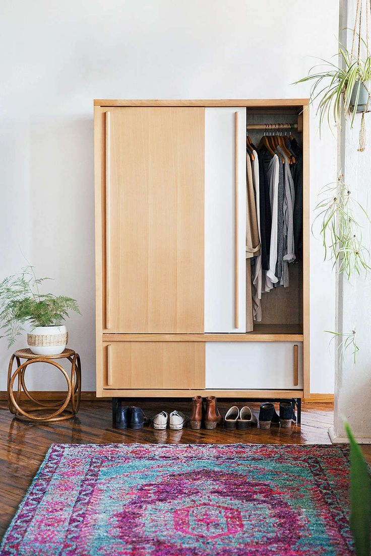 Stand Alone Wardrobe Designs : My tiny bungalow stand alone closet alternatives on the