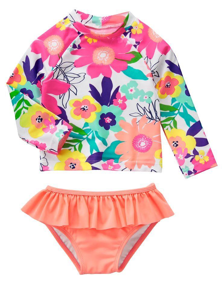 55cf6f4d7f0e6 Little girl swimsuit   Girl's Clothes   Baby swimwear, Baby ...