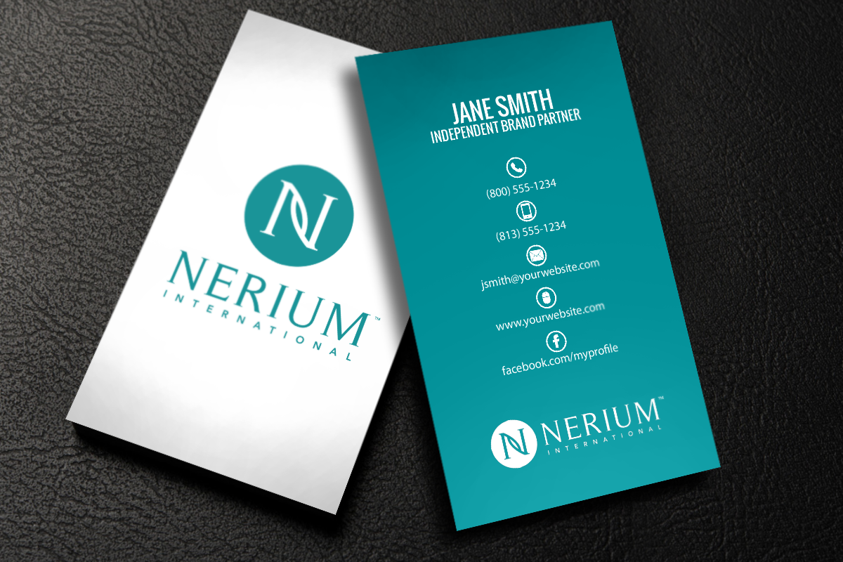 Nerium Business Cards Have Never Looked Better Mlm Nerium Print Paper Graphicdesign Businessc Free Business Cards Printing Business Cards Self Branding
